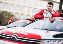 WRC18 Tour de Corse. Citroen C3 R5, Debutto OK
