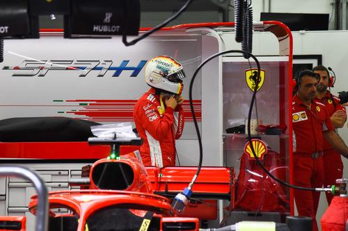 F1, GP Bahrain 2018: vince Vettel (8)