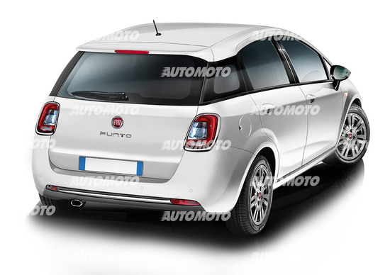 La nuova Fiat Punto secondo la nostra ricostruzione
