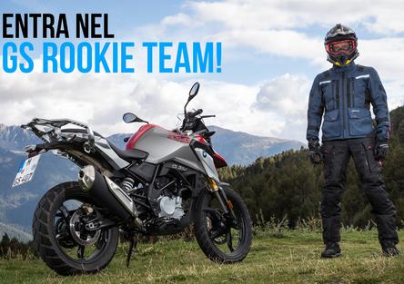 Entra nel GS Rookie Team di Moto.it e parti con la BMW G310GS!