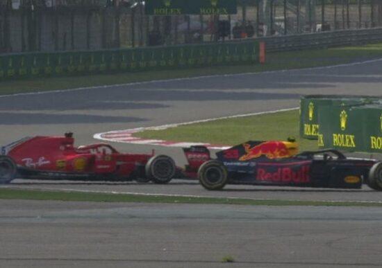F1 2018, GP Shanghai, Verstappen come Marquez?