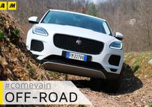 Jaguar E-Pace, Come va in... Fuoristrada [Video]