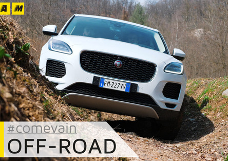 Jaguar E-Pace, Come va in... Fuoristrada [Video]