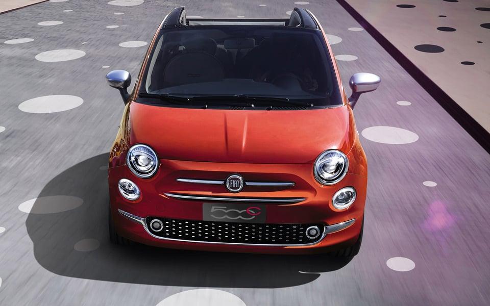 Fiat 500 Cabrio 1.2 Mirror
