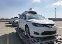 FCA: l'auto a guida autonoma sbarca in Italia