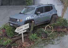 Jeep Renegade, a Milano è anche una scultura