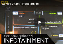 Suzuki Vitara S: il sistema infotainment