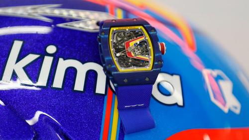 Alonso e Richard Mille: continua la collaborazione con McLaren (3)