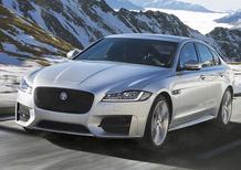 Jaguar XF, la trazione integrale ora è anche sul diesel