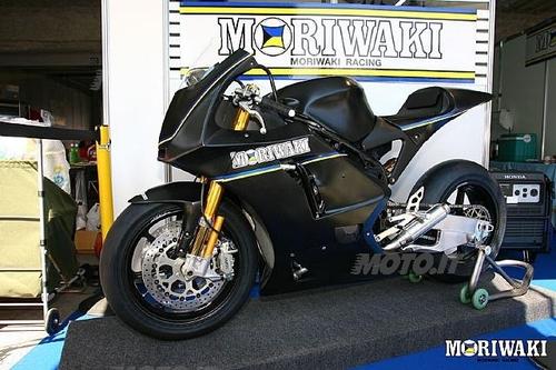 Il futuro della Moto2: la Moriwaki 600