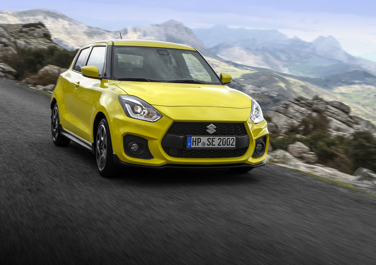 Suzuki Swift Sport 2018, 975 Kg di divertimento [Video]