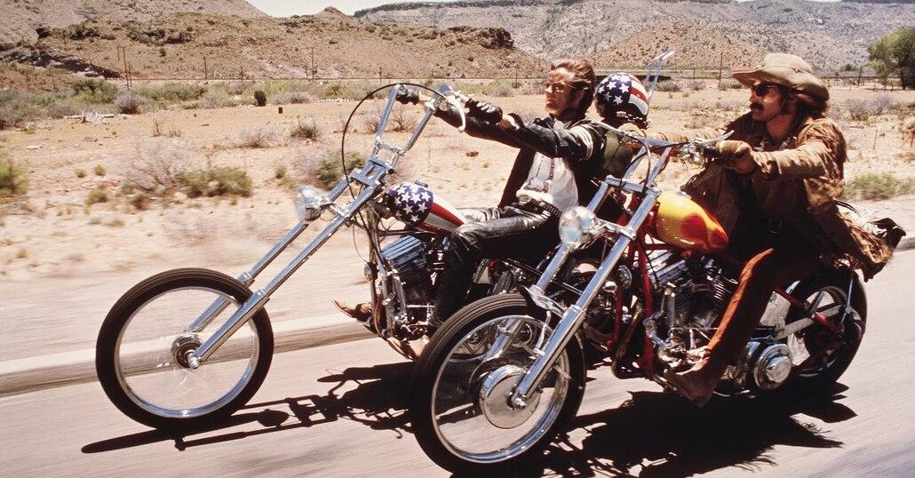Le moto e l'arte: il cinema
