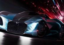 DS X E-tense, concept-car doppia anima per il 2035 [Video]