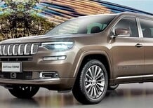 Jeep Grand Commander, al Salone di Pechino 2018 novità a 7 posti