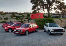 Volkswagen Golf GTI, dalla Mark1 alla Mark7 con on board a sorpresa [Video]
