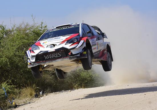 WRC 2018 Argentina. Il Mago di Ott (Toyota)!