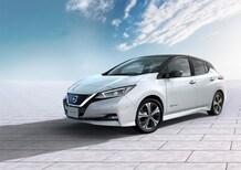 Nissan Leaf, cinque stelle nei test Euro NCAP