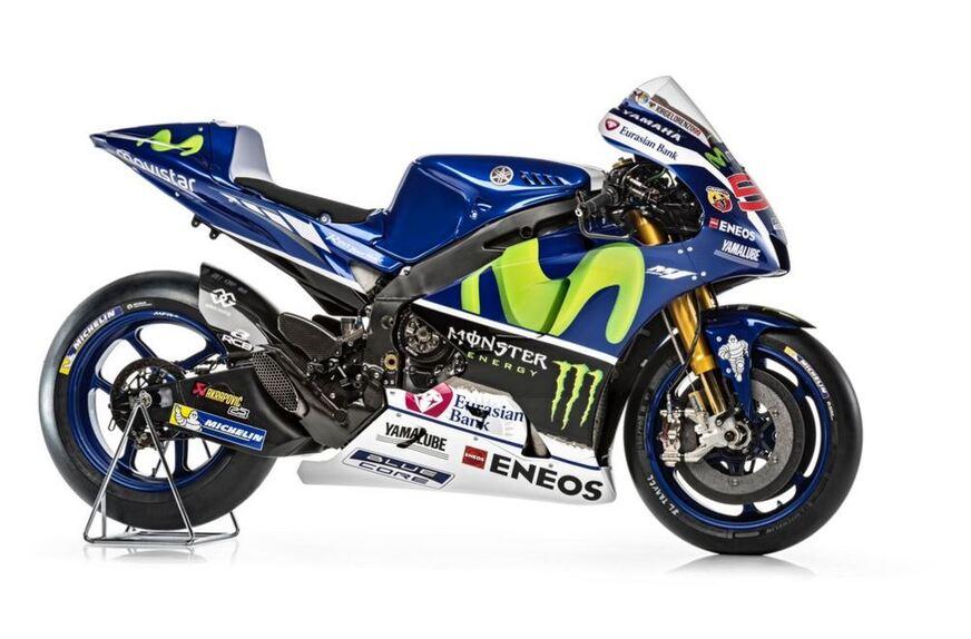La presentazione del team Yamaha MotoGP e della nuova M1 (3)