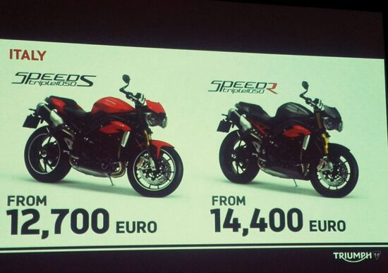 Triumph Speed Triple 2016: conferenza stampa live!