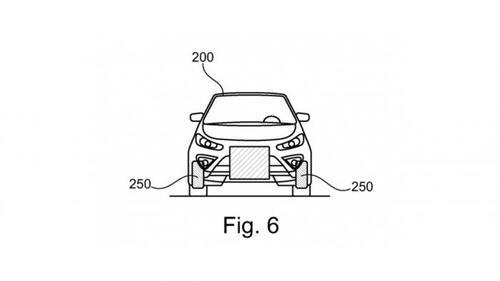 Ford brevetta l'auto che ospita uno scooter al proprio interno (6)