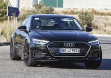 Audi RS7 Sportback, le foto spia