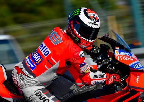 MotoGP 2018. Lorenzo fuori controllo