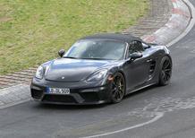 Porsche 718 Boxster Spyder, eccola durante i test [Video]