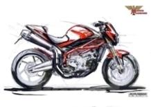 Sta nascendo una vera Morini. Dopo il motore, ecco i primi disegni.
