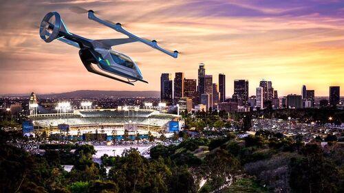 Nel 2020 i primi taxi volanti