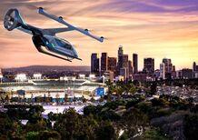 Auto volante o eVTOL? Tecnologia di Uber con U.S. Army e NASA per i taxi del futuro