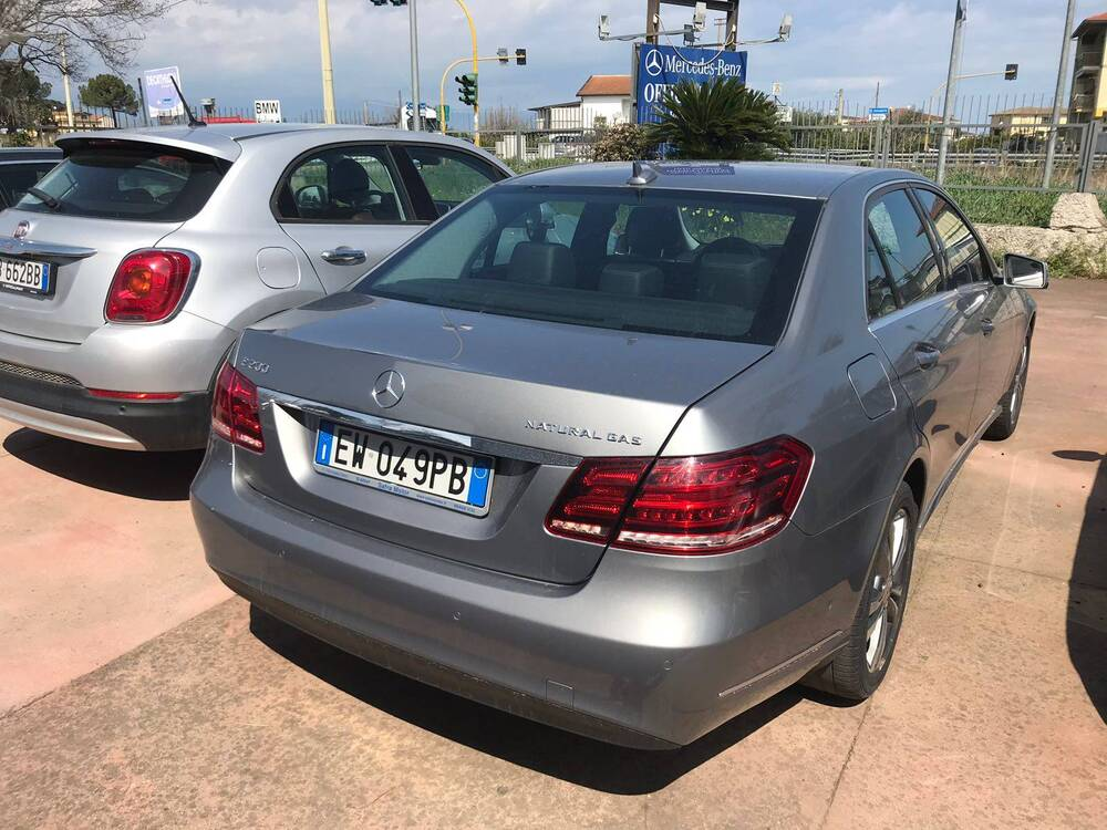 Mercedes-Benz Classe E 200 NGD Premium del 2014 usata a Senise (4)