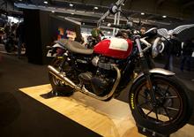 Triumph e Pirelli insieme a Motor Bike Expo con una Street Twin Special