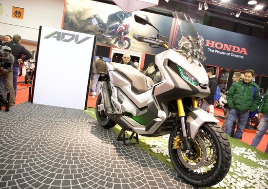 Tutta la gamma Honda al Motor Bike Expo 2016