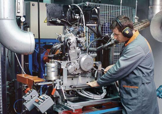 KTM Mattighofen. La R&D e le moto di domani