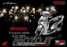 Prova l'Honda SH300i e vinci Hollywood!