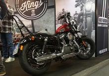 Harley-Davidson Custom Lounge al Motor Bike Expo 2016
