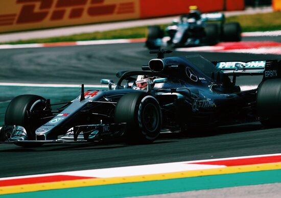 F1, GP Spagna 2018, FP2: Hamilton al top