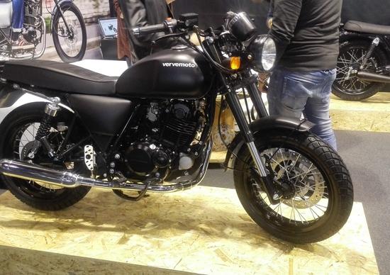 Motorbike Expo 2016: Verve Moto Classic 125 e Classic S 125