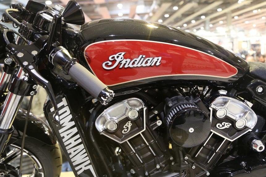 Motor Bike Expo 2016: Indian Tomahawk, una special per Daytona (4)