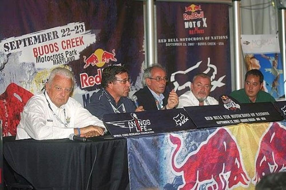 Da sinistra Paolo Sesti, Wolfang Srb, Vito Ippolito, Giuseppe Luongo, Jasper Perry