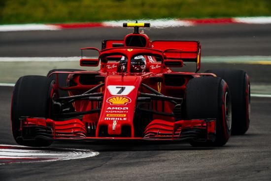 Ritiro per Kimi Raikkonen nel GP di Spagna