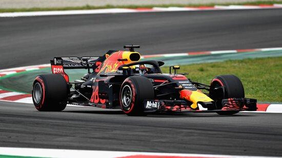 Daniel Ricciardo, della Red Bull, ha tagliato il traguardo in quinta posizione