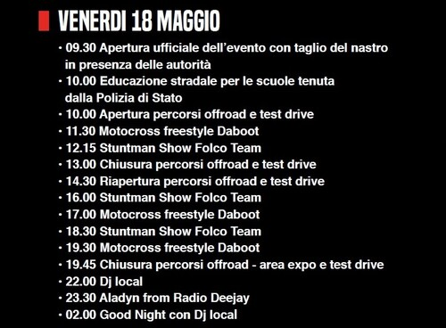International Motor Days 2018: 3 giorni di off-road, stunt-show e divertimento (2)