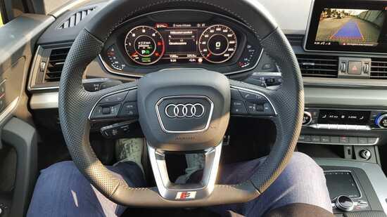 Gli interni della Audi Q5