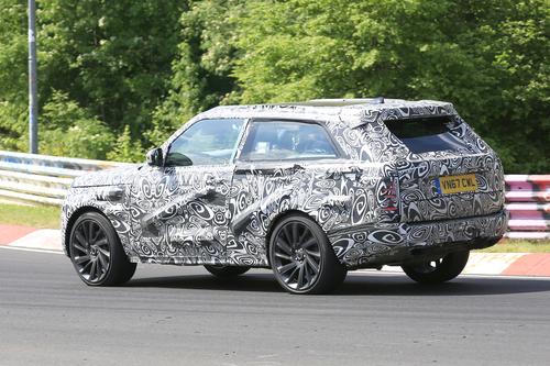 Range Rover SV Coupé, le foto spia (4)