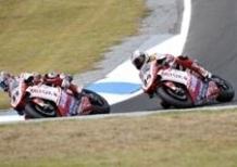 I piloti Ducati Xerox Haga e Fabrizio sono giunti in Spagna per il Campionato Mondiale