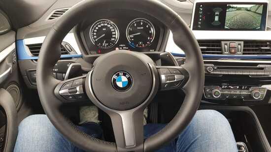 Gli interni della BMW X2