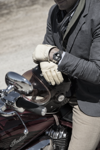 Baume & Mercier e Indian Motorcycle, una giornata in circuito a Vairano per celebrare la partnership (5)