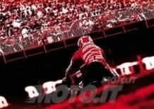 La Tribuna Ducati al Gran Premio d'Italia sul circuito del Mugello
