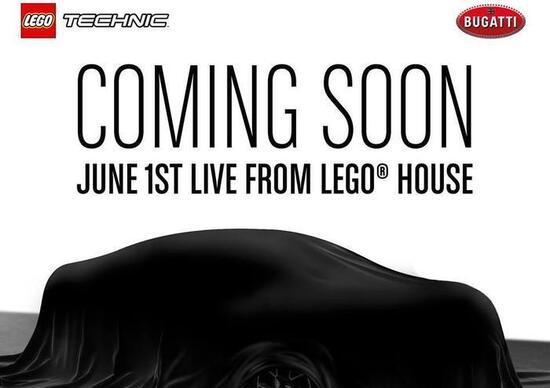 Bugatti chiron in arrivo la versione 1 8 della lego for Sede lego danimarca